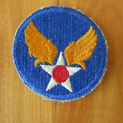 WWII US Army Air Force Shoulder Insignia Patch USAAF USAF WW2    Lot 2