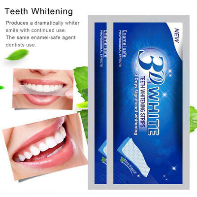 5/10Bag 3D Teeth Whitening Paste Oral Tooth Health Pro Cleaning Oral Beauty Care