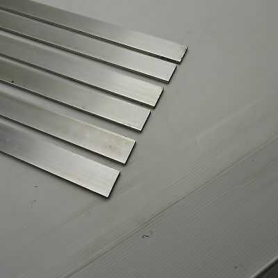 ".25"" x 1.5"" Aluminum Solid 6061 FLAT BAR 32"" Long mill stock Pieces 6 sku A150"
