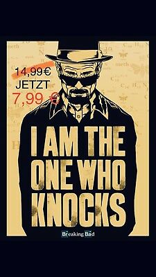 Breaking Bad - I Am The One Who Knocks - Fernsehserie Poster 61 x 91,5