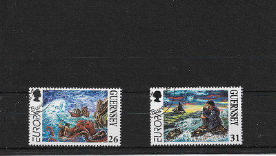 GUERNSEY 1997 Europa set - SG 735/36 - used
