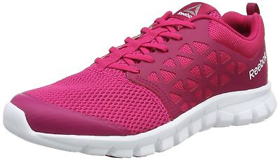 9c6e0aa35a6b39 Reebok Memory Sublite Women s Trail Running Shoes Pink Low Top Trainers  Sneakers