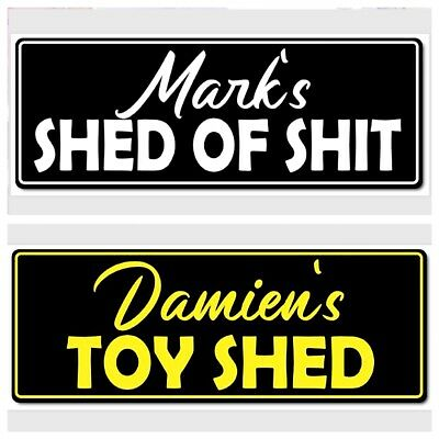 Personalised Shed / Man cave sign