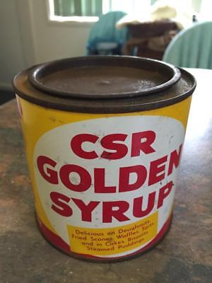 Old CSR 2Lb GOLDEN SYRUP TIN. Colonial Sugar Refinery.* Kitchen Grocery Display