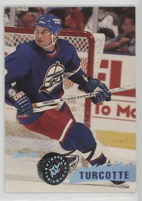 1995-96 Topps Stadium Club #27 Darren Turcotte Winnipeg Jets Hockey Card