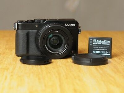 Panasonic LUMIX DMC-LX 100 16.8 MP Digitalkamera - Schwarz LX100 (verkratzt)