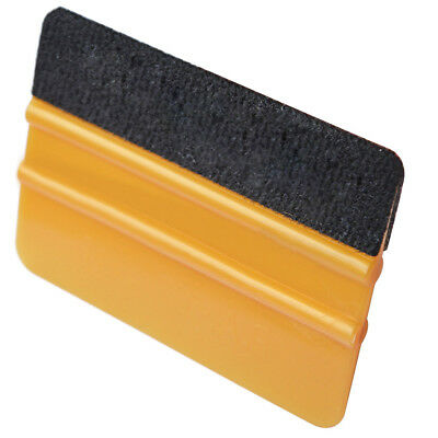 1PC Car Film Wrap Squeegee Scraper Glass Window Cleaning Washer Brush Tool
