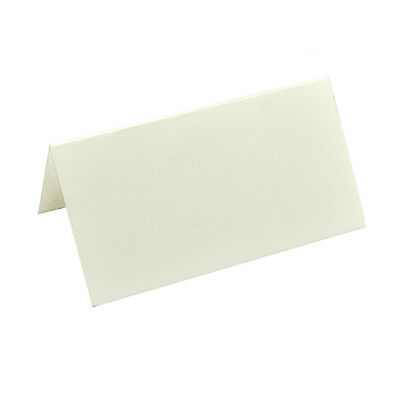 Pack of 50 Ivory / Cream Colour Wedding Place Cards  XPPC12
