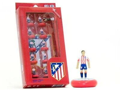 Total Soccer Table Top Football Like Subbuteo - Atletico Madrid 09/10 Team Pack
