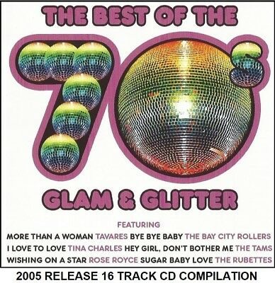 Best Greatest Glam Rock Disco Hits CD The Rubettes Ike & Tina Turner Chicory Tip