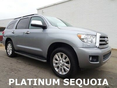2011 Toyota Sequoia Platinum 2011 Toyota Sequoia Platinum SUV Used 5.7L V8 32V Automatic 4WD
