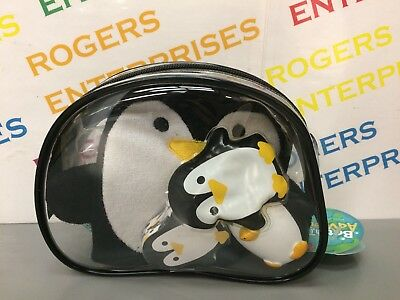 Half Moon Bay Bath Time Adventure Penguin Gift Set Wash Bag inc Water Squirter