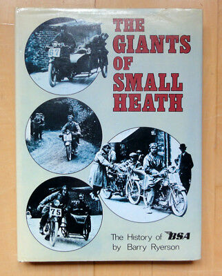 The Giants of small Heath The history of BSA by Barry Ryerson