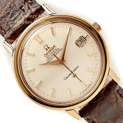 Omega Constellation, Cal.561, 18Ct, 1966 - Superbly Restored And Immaculate!