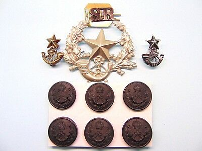 The Cameronians ( The Scottish Rifles ) Insignia.