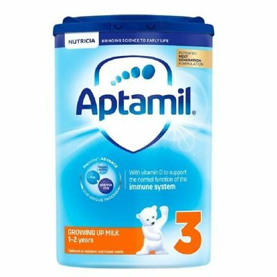 Aptamil 3 Growing Up Milk 1-2 Years 800g [New Formula] 1 2 3 6 12 Cases