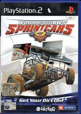 World of Outlaws Sprint Cars - Playstation 2 PS2