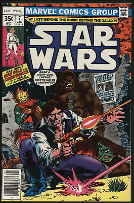Star Wars #7 Jan 1978. New Stories Begin. Chaykin Art