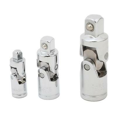 Stainless Steel Universal Flexible Socket Connector Set Swivel Joint Adapter 6L