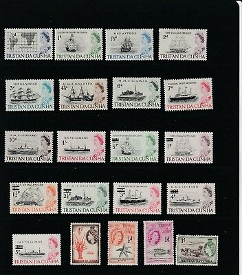 Tristan Da Cunha  Mint and Used Stamp Selection 2 SCANS (0962)