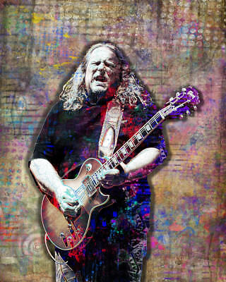 WARREN HAYNES 12x18inch Poster Gov't Mule Poster Allman Brothers Free Shipping