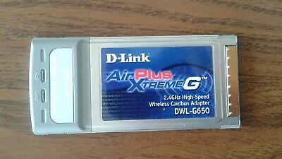 DWL-G520 D-LINK AIRPLUS TÉLÉCHARGER DRIVER