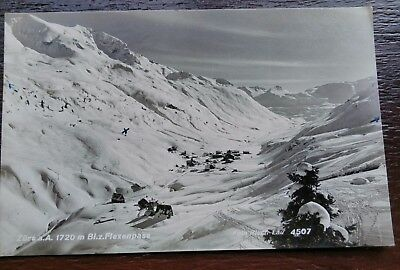 Flexan Pass  Austria 1955 Postcard
