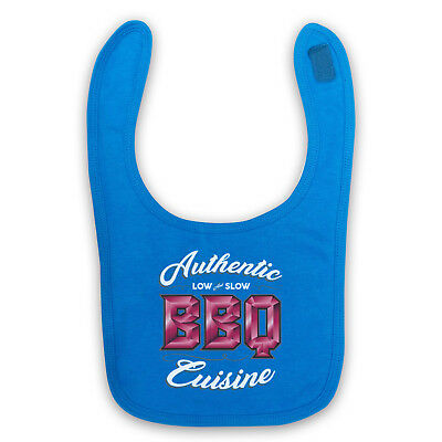 Authentic Bbq Cuisine Low & Slow Love Of Barbeque Baby Bib Shower Gift