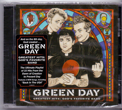Green Day ‎– Greatest Hits: God's Favorite Band COLLECTOR'S CD! FREE SHIPPING!