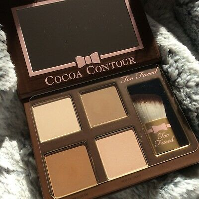 Too Faced Cocoa Contour, Palette, Face contour and highlighting kit, Bronzer