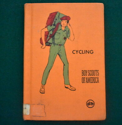 Boy Scout 1973 Library Copy Merit Badge Book - Cycling