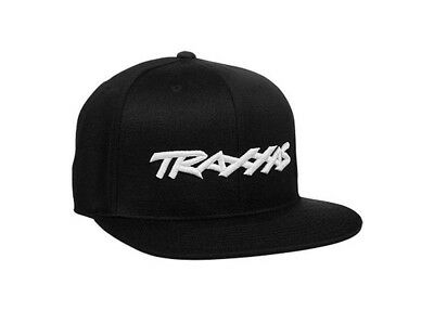 Traxxas Snap Hat Flat Bill Black 1183-BLK