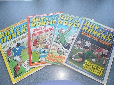 Roy of the Rovers comics.