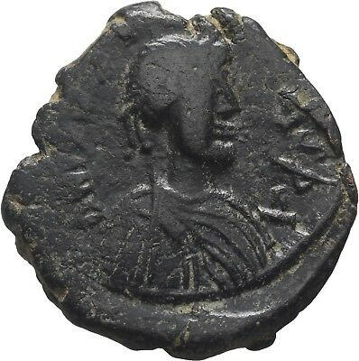 Lanz Byzantine Empire Justin I Contemporary Imitation Follis Nicomedia Ae±Bec997