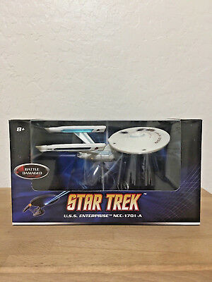 Hot Wheels STAR TREK USS Enterprise NCC-1701-A Battle Damaged 2008