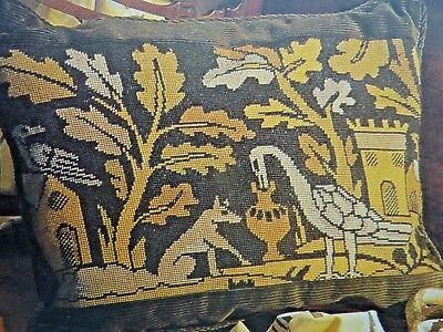 [1487]Tapestry Chart-Fox and Crane