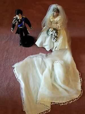 Princess diana doll wedding along with Prince Charles