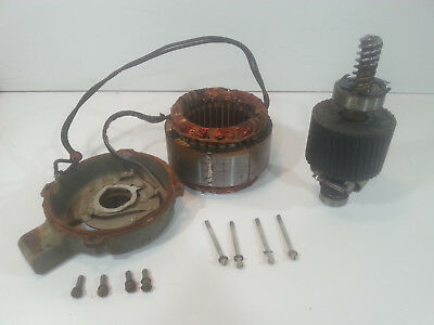 Hobart 410 Slicer Replacement Motor and motor housing cover Tested Works