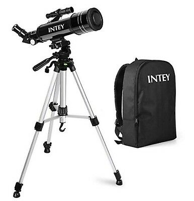 INTEY Telescopio Astronomico - 400 / 70mm con ZAINO Portatelescopio e accessori