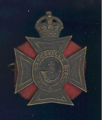 Brockville Rifles 1931-issue cap badge- a REAL one!