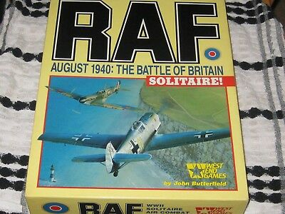RAF - August 1940 : The Battle Of Britain Solitaire by West End Games