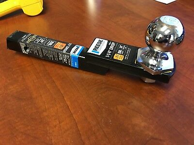 """Reese 1-1/4"""" Receiver Opening x 9 x 1-1/4 Drop. Includes 2"""" Ball 2190111"""