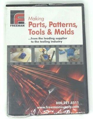 Freeman: Making Parts, Patterns, Tools & Molds (DVD) - Ships within 12 hours!!!