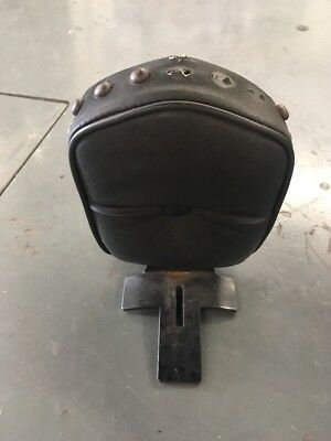 Indian Backrest & Small Bag - Weathered - Harley-Davidson