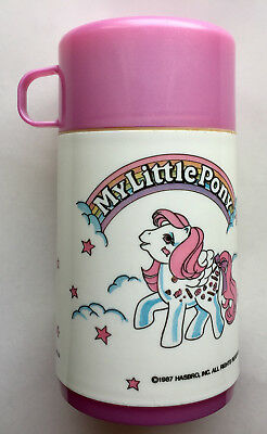 Vintage My Little Pony Thermos Hasbro Pink MLP by Aladdin