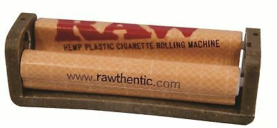 RAW Hemp Coated Plastic Cigarette Tobacco 110MM Roller Rolling Machine King Size