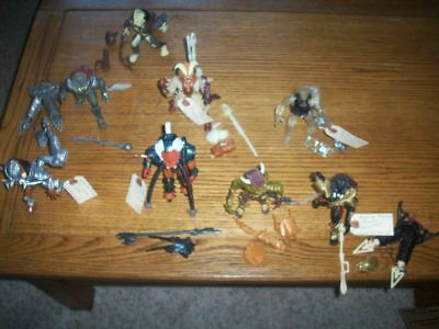 Kenner - LOT OF (9) PREDATOR  FIGURES/ ACCESSORIES LOOSE MINTY 1994/1995/1996