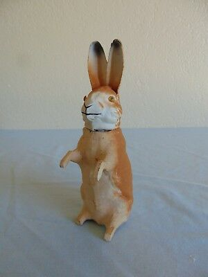 Antique German Rabbit Candy Container Free Shipping