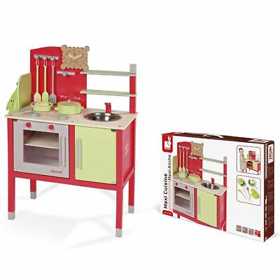 Janod Play Kitchen Kids Kitchen Maxi Cuisine With Accessoires