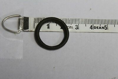 Authentic Ancient Bronze Celtic Ring Money 21.49 mm 3.9 grams Ring Size 6  (#10